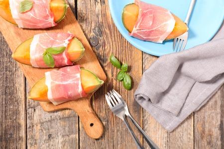 jamones: melón y jamón