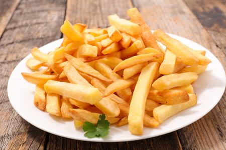 Französisch frites Standard-Bild - 57698096