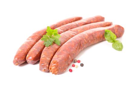 raw: raw sausage