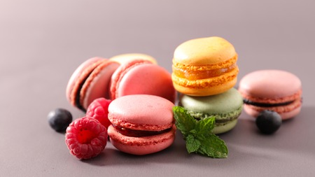 assortment: assortment of french macaroons