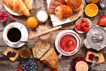 composition: composition, breakfast