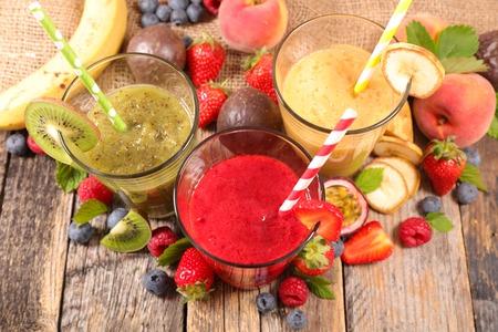 fruit smoothie Stok Fotoğraf