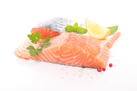 raw: raw salmon