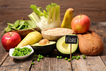 fiber food: food high in fiber