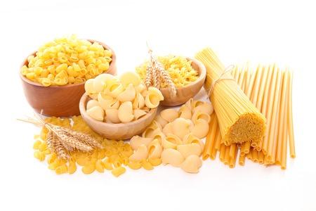 raw: raw pasta Stock Photo