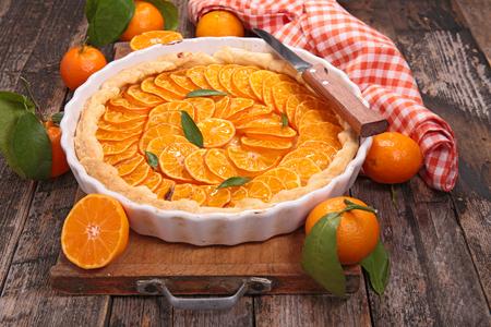clementine: orange or clementine tart
