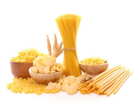 variety: assorted variety of pasta