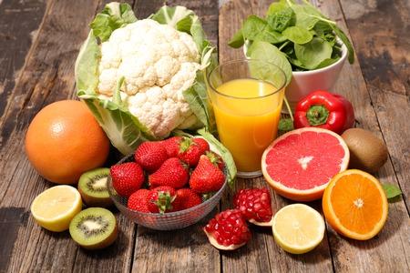 ビタミン c と食品