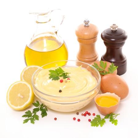 mayonesa: la mayonesa con el ingrediente