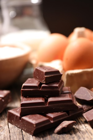 dark: dark chocolate