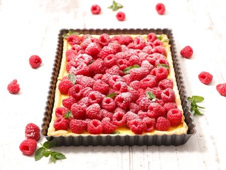 tart: raspberry tart