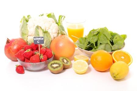 ビタミン C と分類された食品