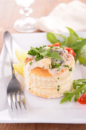 au: vol au vent,appetizer