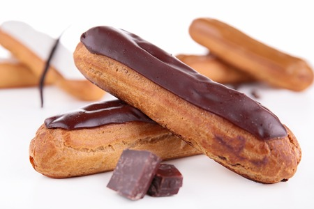 eclair: french eclair pastry