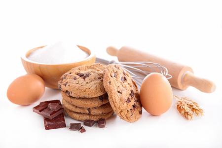 ingredient: chocolate cookie and ingredient