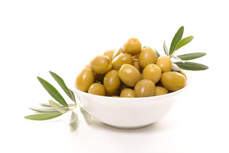 green olive Foto de archivo