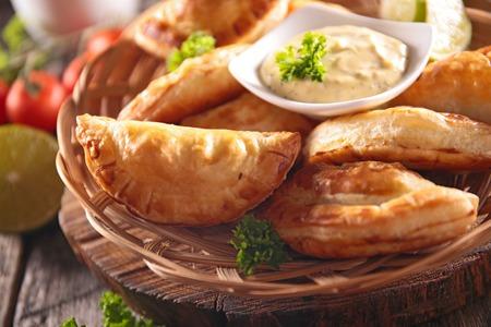 dip: empanada and dip