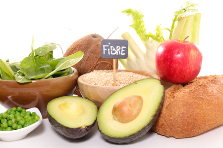 fiber food: assorted fiber food