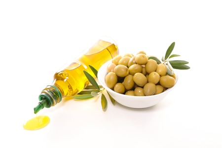 olive green: green olive and olive oil