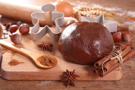 galleta de jengibre: masa para galletas de jengibre con especias