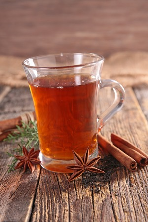 red tea: red tea and spice