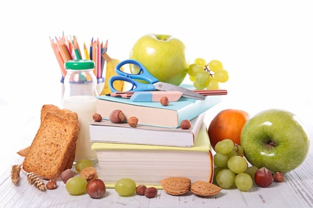 healthy meal for school or business