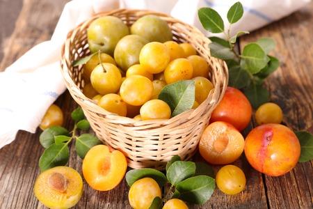 assortment of plum variety