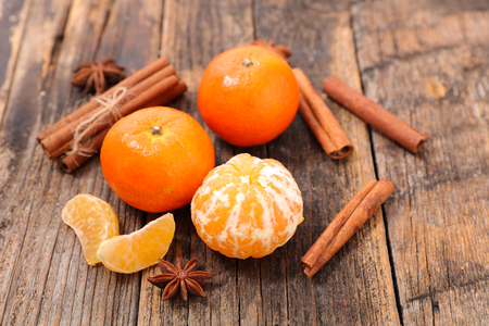 clementine: clementine with cinnamon and anise