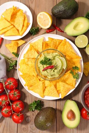 guacamole: nacho and guacamole