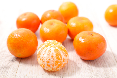 clementine fruit: clementine Stock Photo