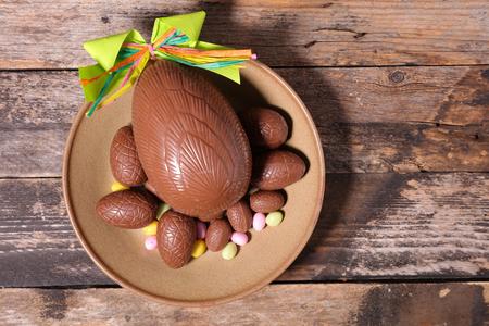 chocolate egg: easter chocolate egg