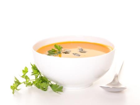 soup bowl: bowl of soup