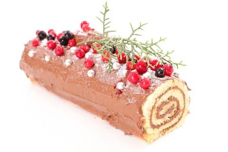 yule: christmas log