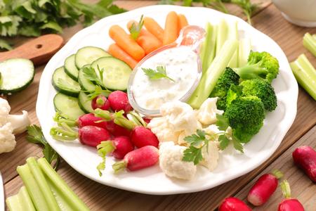 dip: vegetable and dip