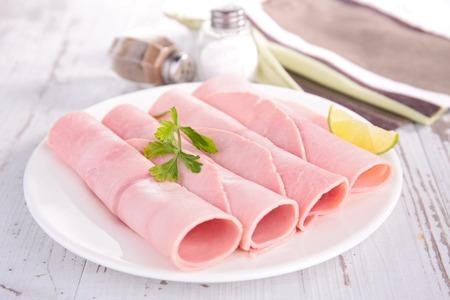 entrees: fresh ham