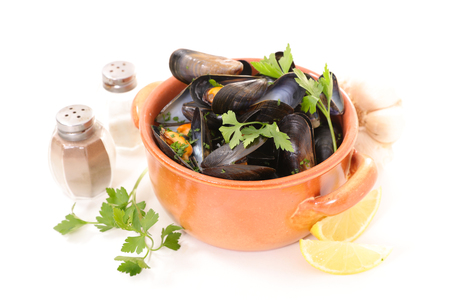 mussel: mussel with parsley and lemon