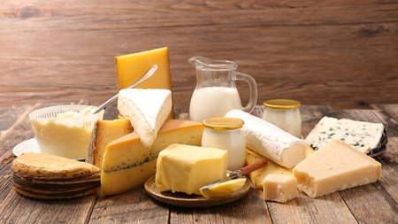 dairy product: assorted dairy product