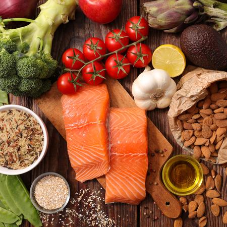 健康食品のコンセプト 写真素材