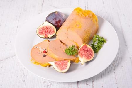 entrees: foie gras