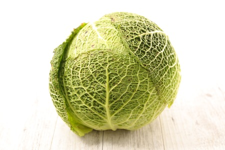 green cabbage: green cabbage Stock Photo