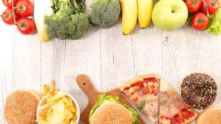 comida rica: concepto de alimentación