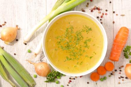 vegetable broth Banque d'images