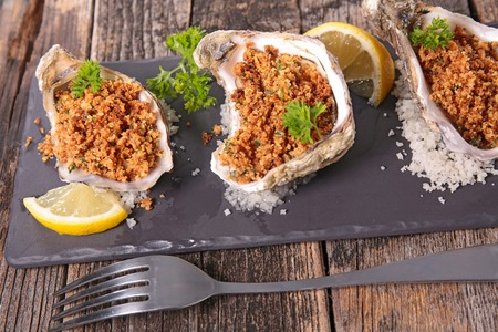 baked: baked oyster