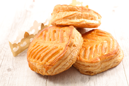 galette des rois or epiphany cake Stock Photo