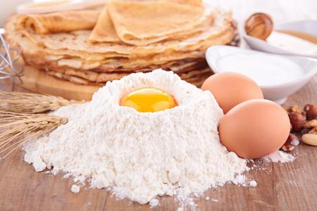 ingredient: crepe ingredient Stock Photo