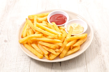french fries 스톡 콘텐츠