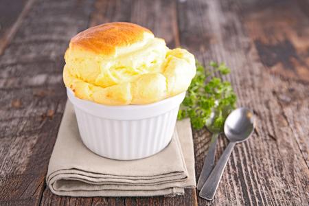 cheese souffle Stock Photo