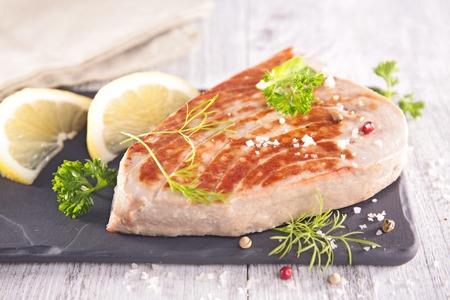 tuna fillet: tuna fish fillet