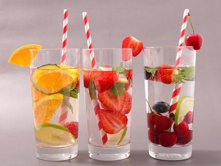 infused: water detox infused with fruits