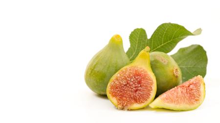 fresh green fig Reklamní fotografie